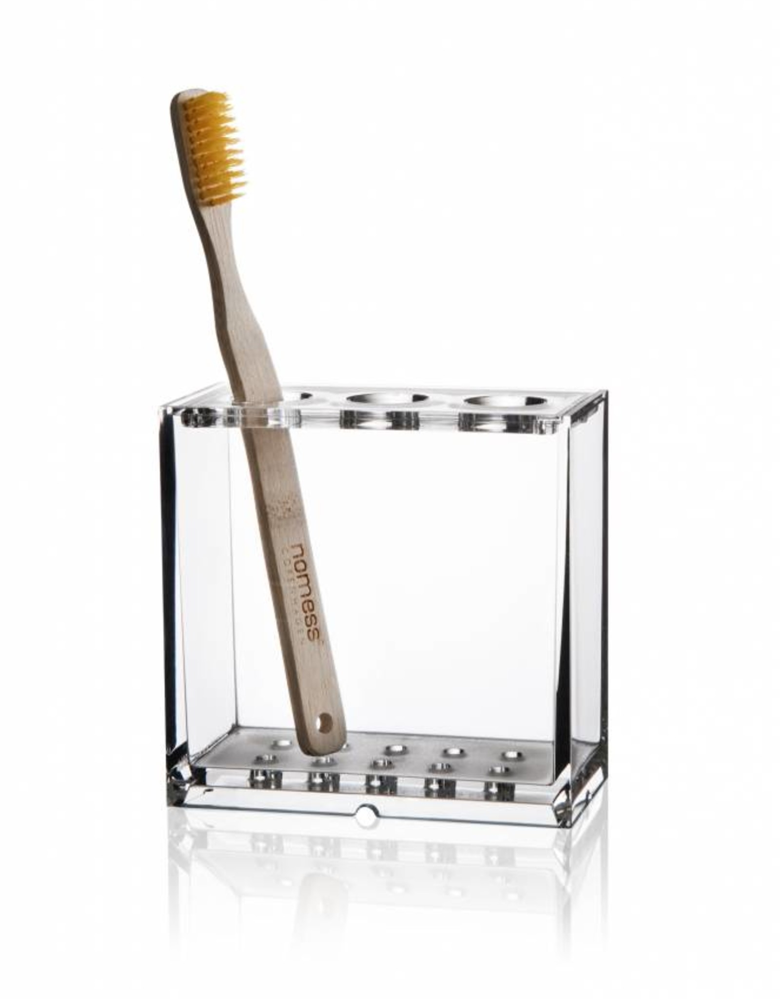 Nomess Copenhagen Clear tooth brush holder