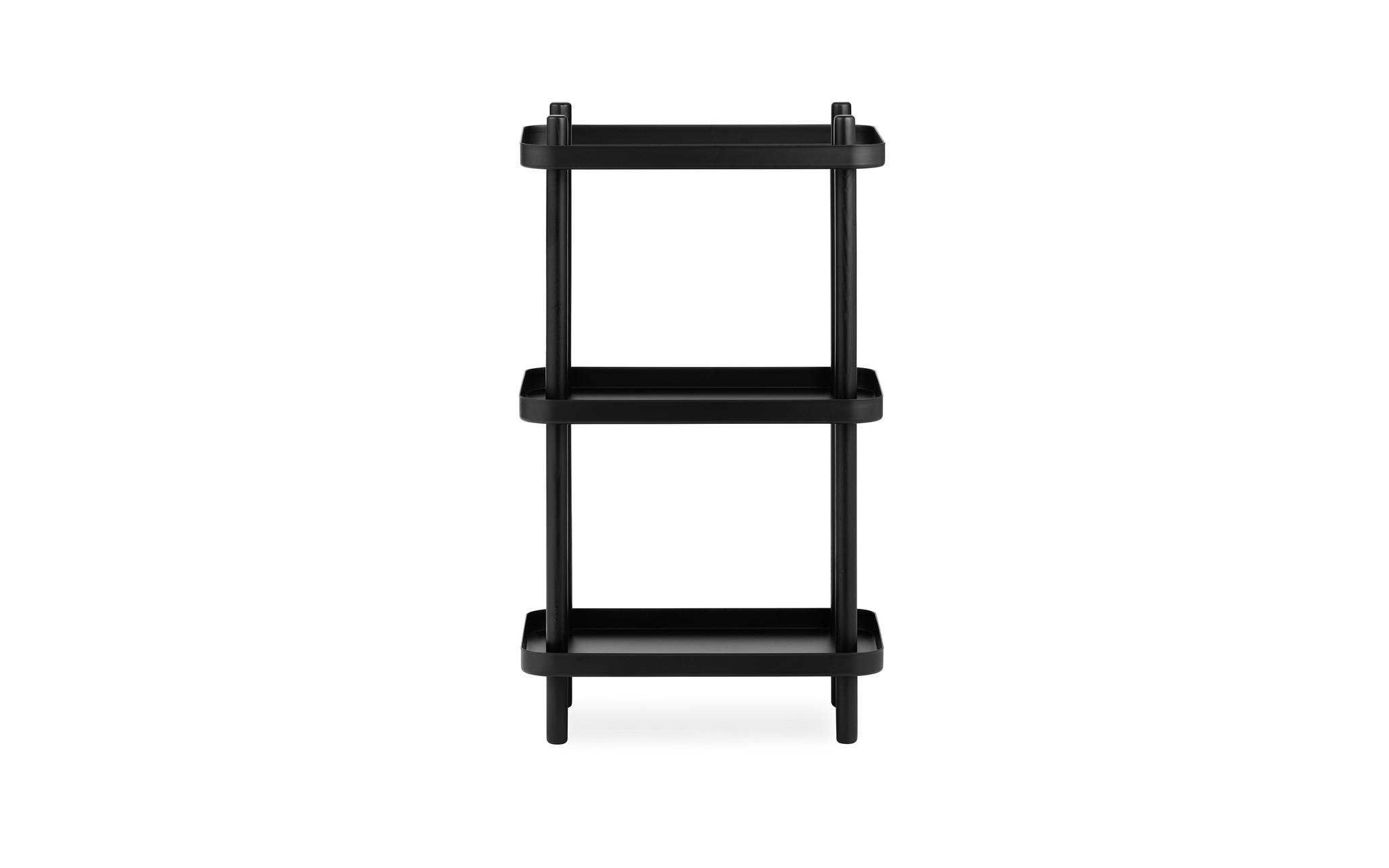 Normann Copenhagen Block Shelf Black