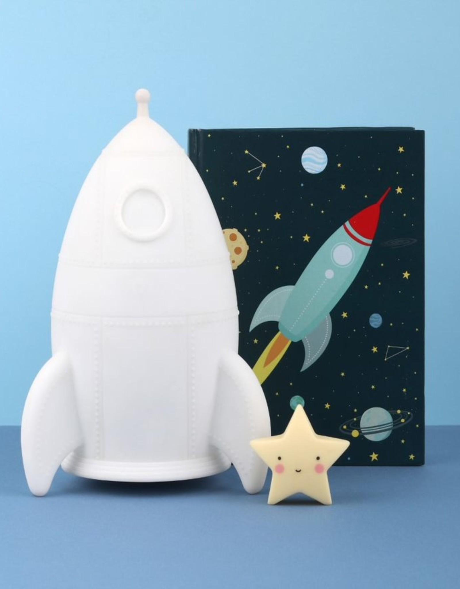 A Little Lovely Company Night light rocket