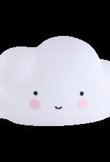 A Little Lovely Company Little light cloud white