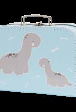 A Little Lovely Company Koffertje baby brontosaurus