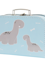 A Little Lovely Company Suitcase baby brontosaurus