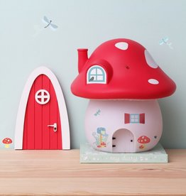 A little Lovely Company Night light mushroom house forest