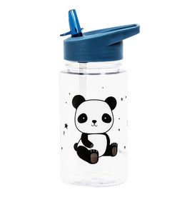 A Little Lovely Company Panda drink bottle