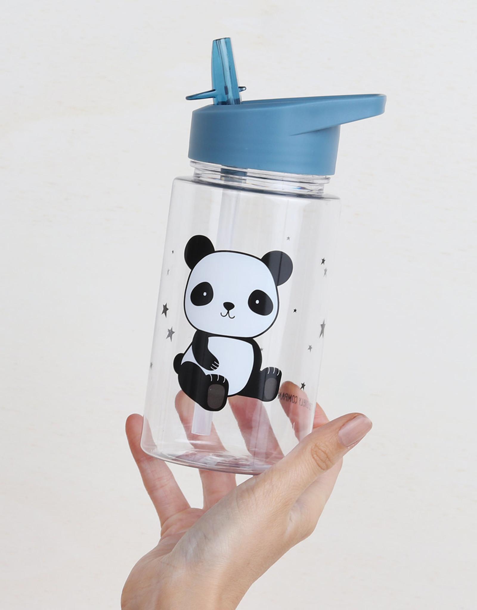A Little Lovely Company Panda drink bottle