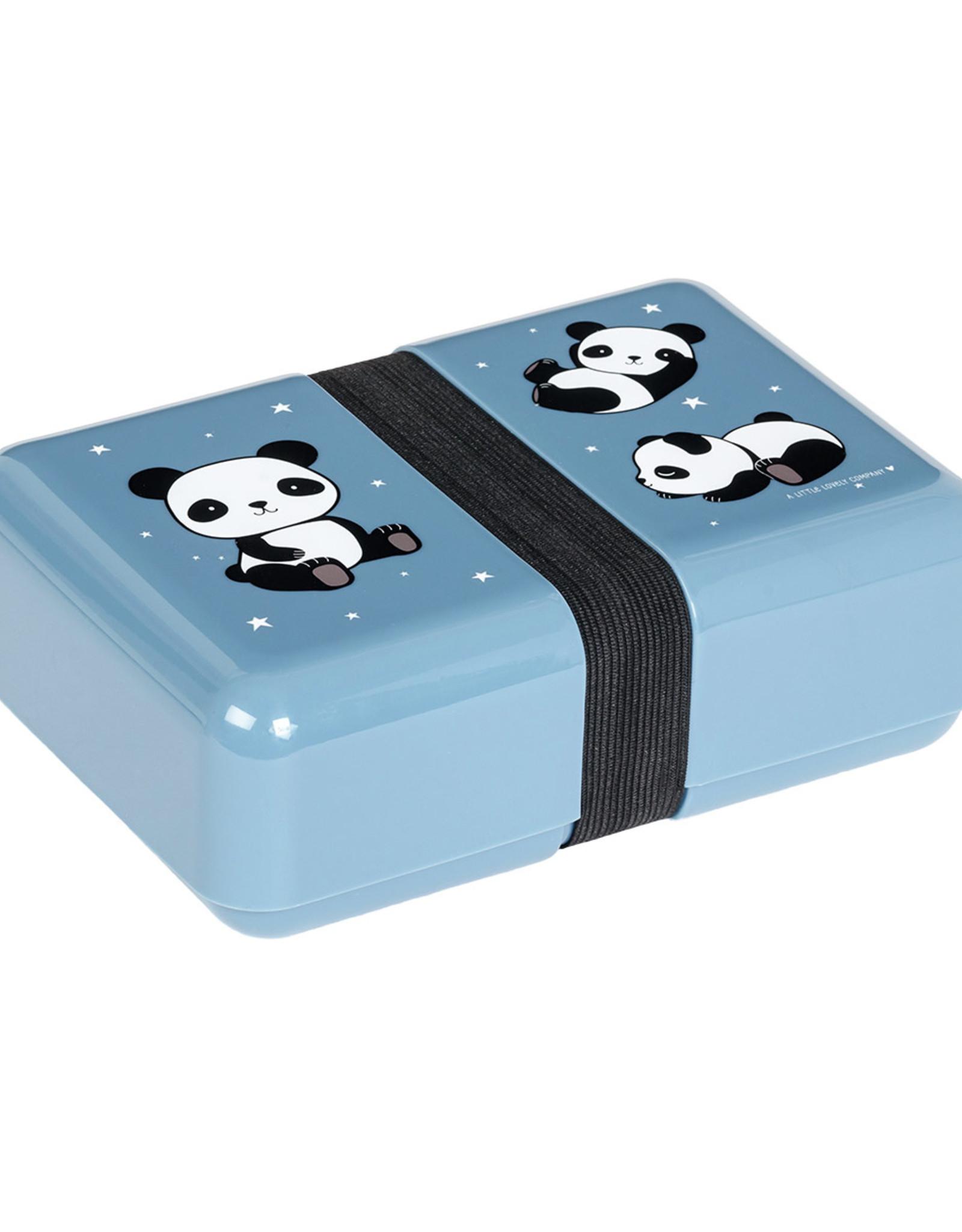 A Little Lovely Company Panda lunchbox