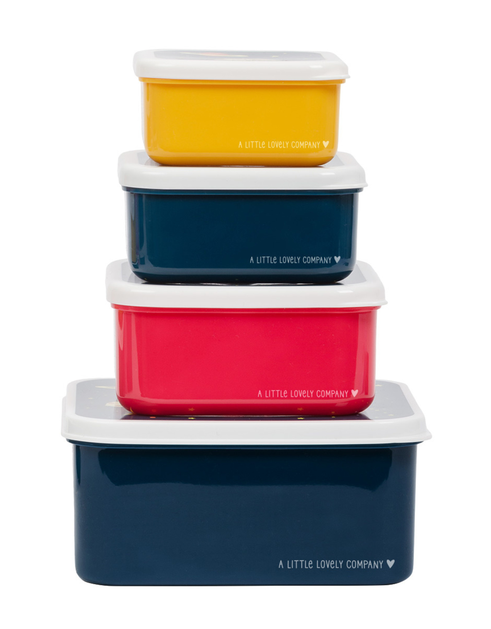 A Little Lovely Company Espace lunch & snack box set