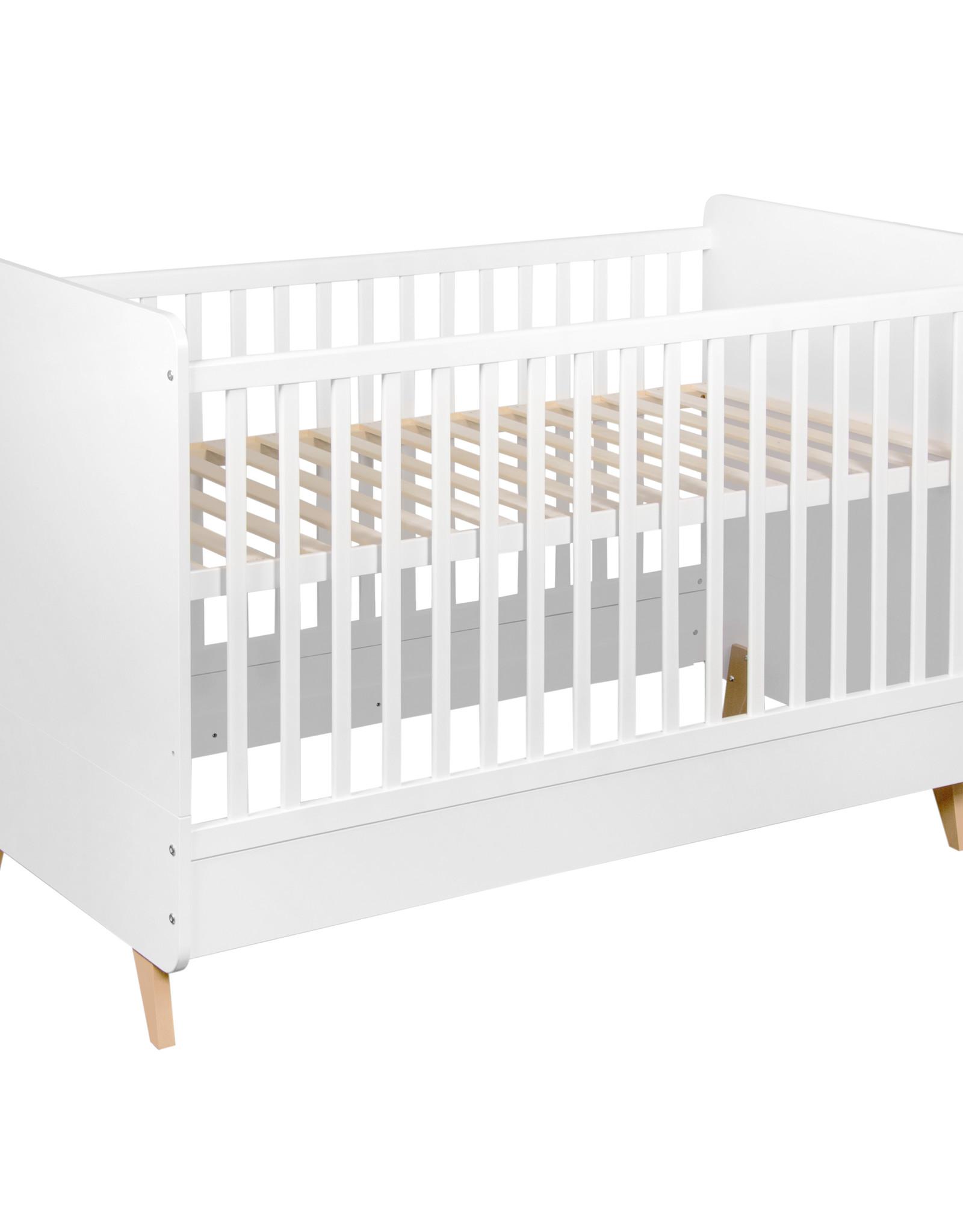 Quax Loft Bed 120x60 Cm - White
