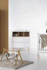 Quax Loft Lit 120*60 Cm - Blanc