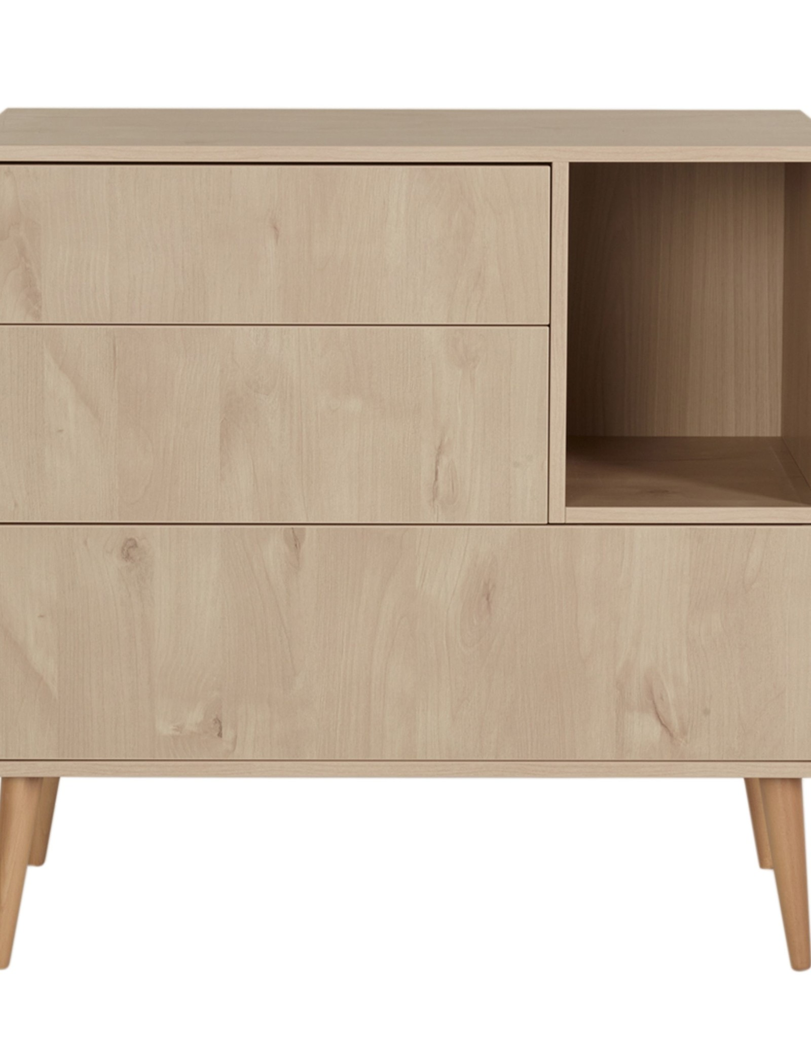Quax Cocoon Commode - Natural Oak