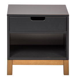 Quax Indigo Bedside Chest - Moonshadow