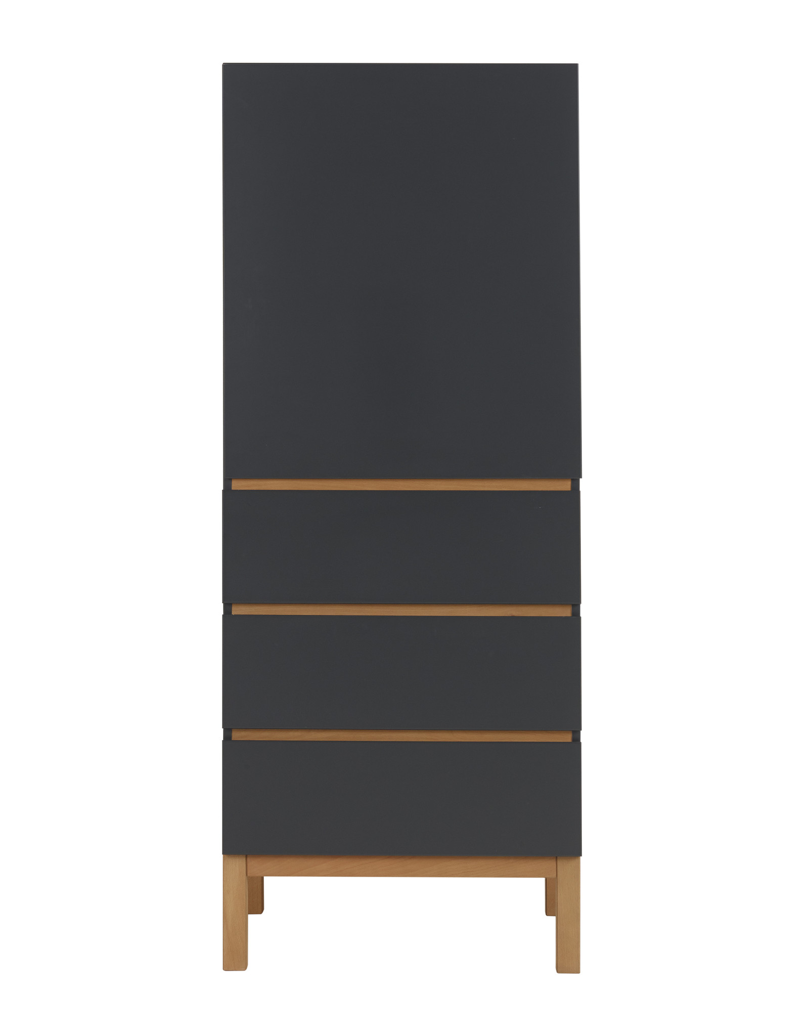 Quax Indigo Wardrobe 1 Door + 3 Draw - Moonshadow