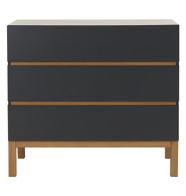Quax Indigo Chest 3 Drawers - Moonshadow