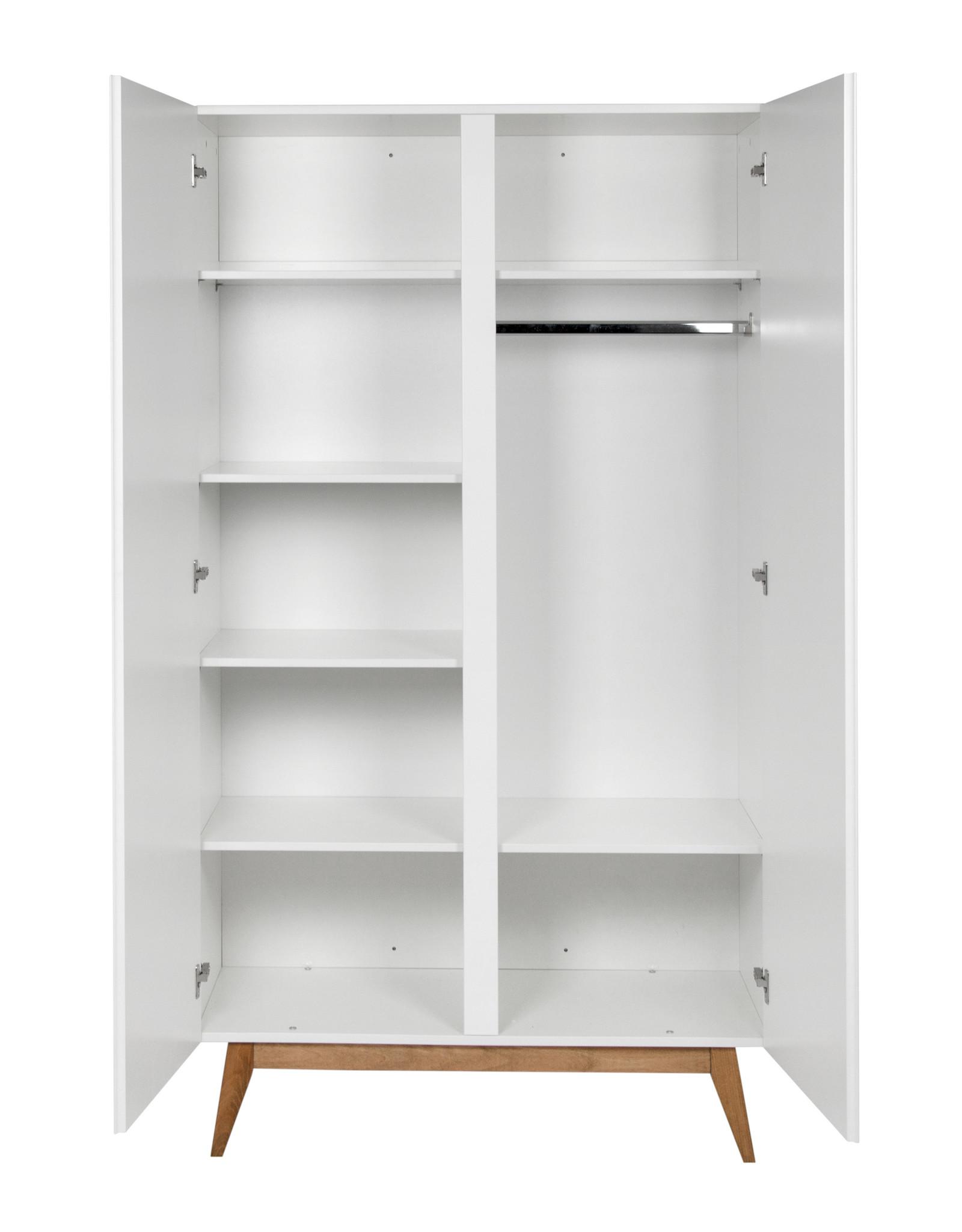 Quax Trendy armoire 2 portes blanc