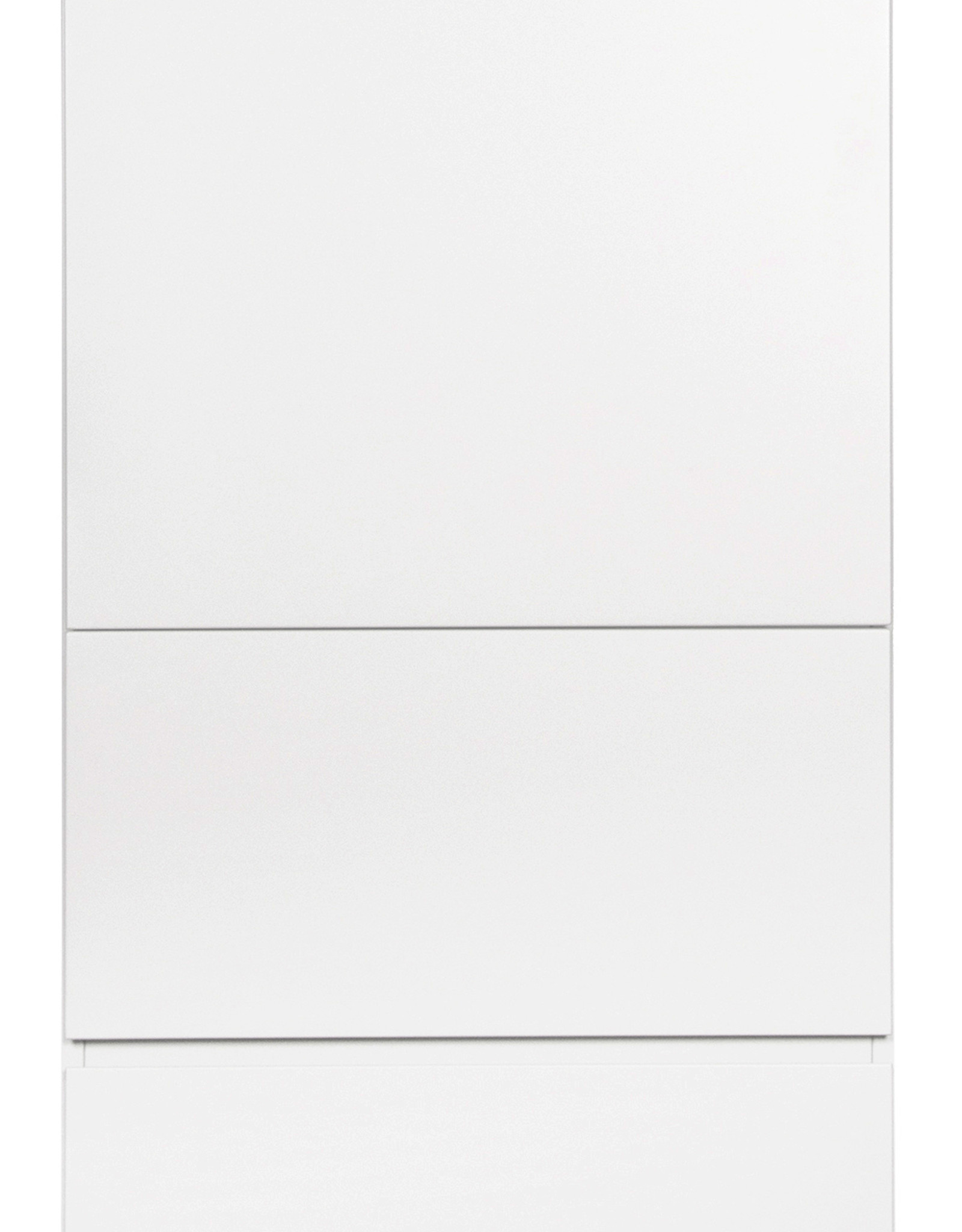 Quax Trendy wardrobe 1 door + 2 drawers white