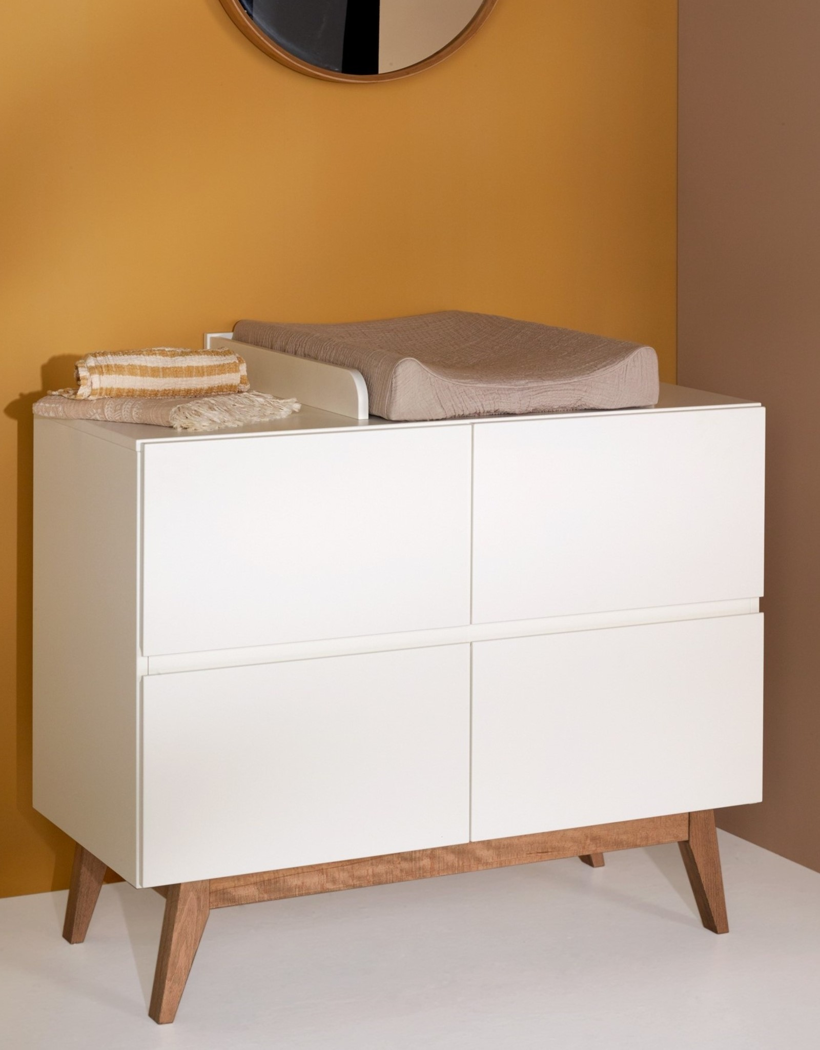 Quax Trendy 4 drawer chest white
