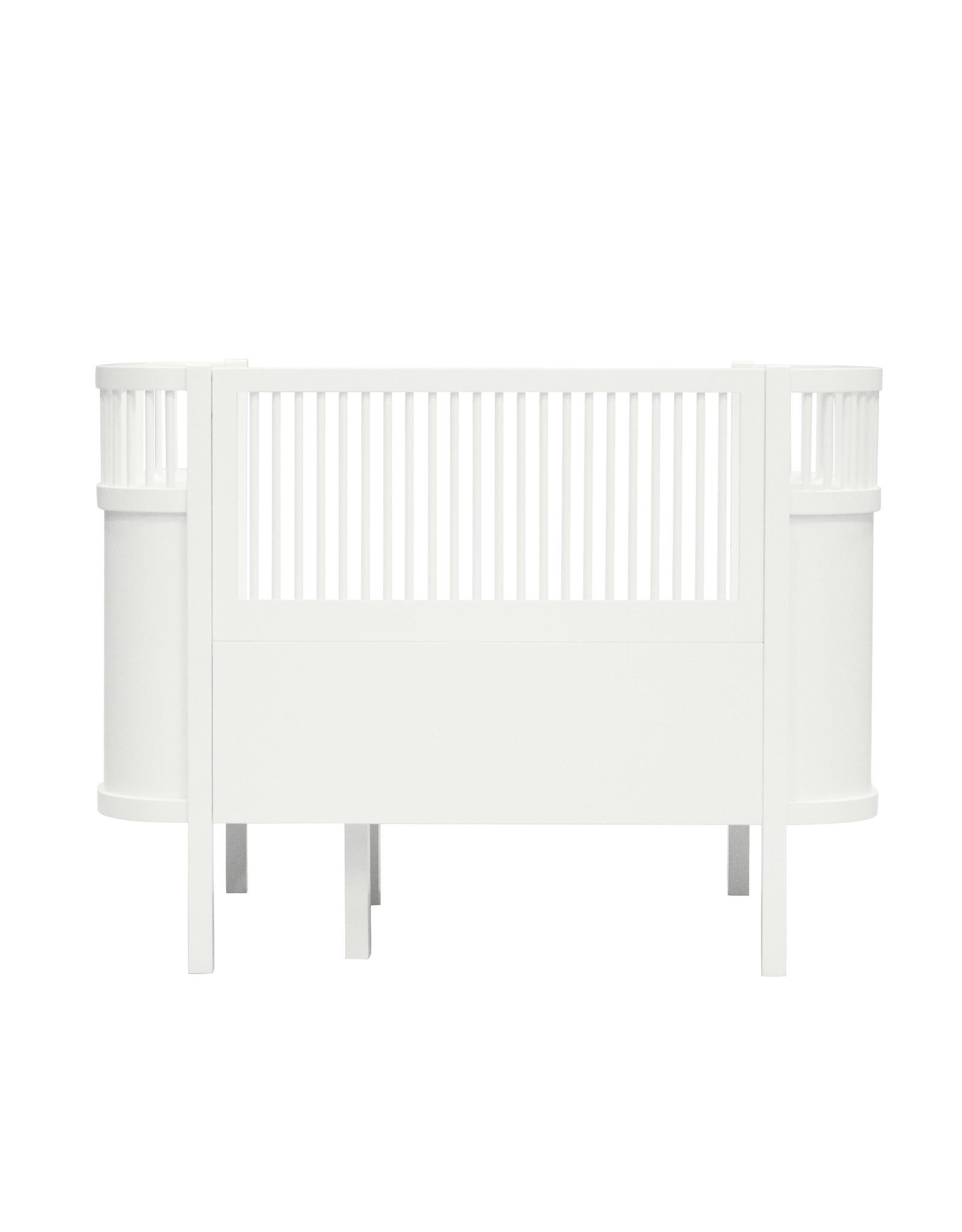 Sebra baby & junior bed white