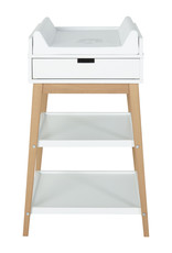Quax Luiertafel Hip + Lade - White/naturel
