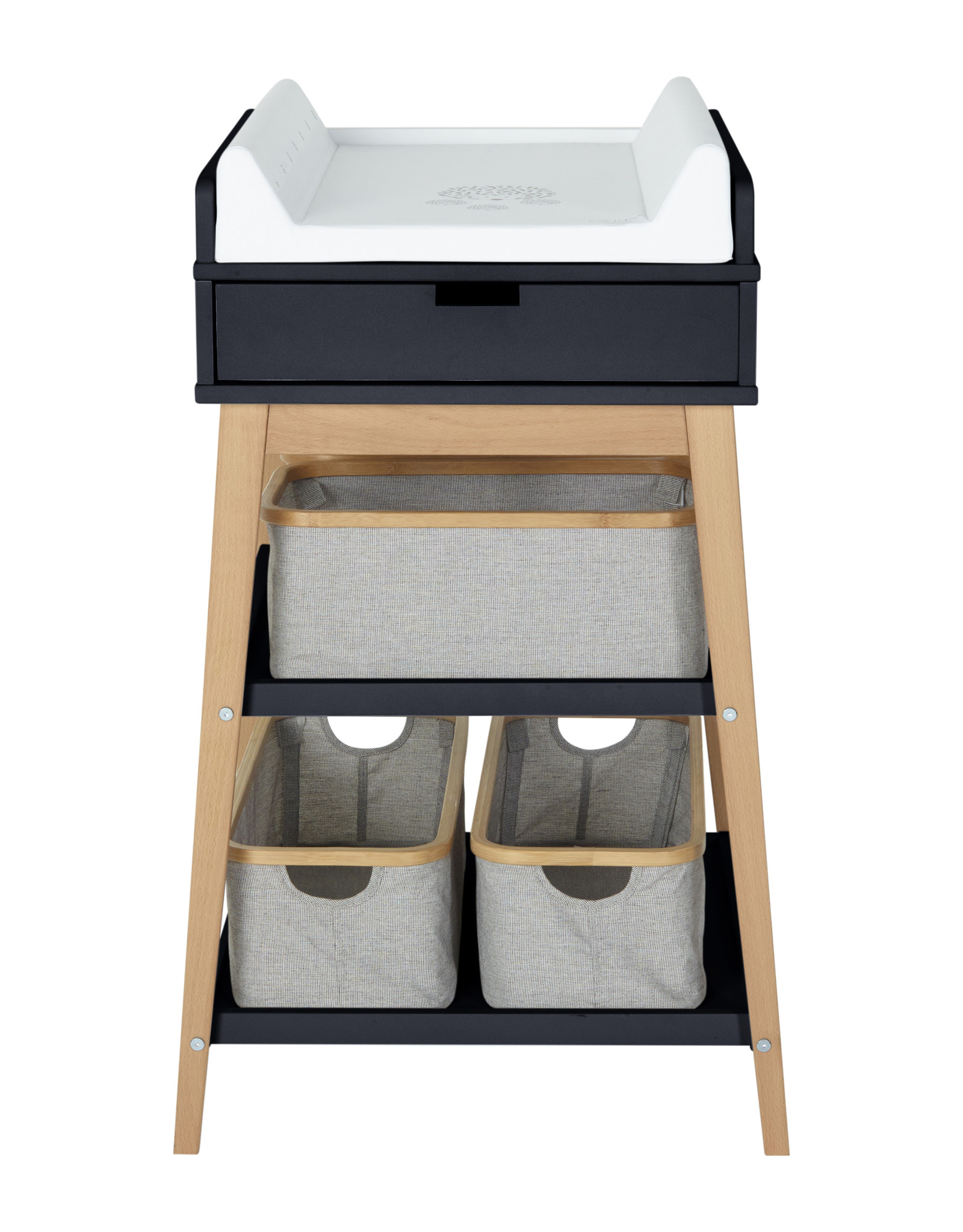 Quax Changing Table - Hip + Drawer - Moons./nature