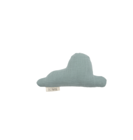 LIL'PAPOE Hochet nuage tetra menthe