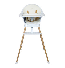 Quax Chair - Ultimo 3 Luxe - White/natural