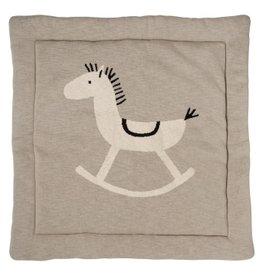 Quax Knitted - Play Carpet - 100*100cm - R.horse