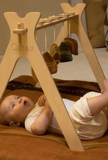 Quax Tipi - Activity Arch + 5 Knitted Toy - Terra