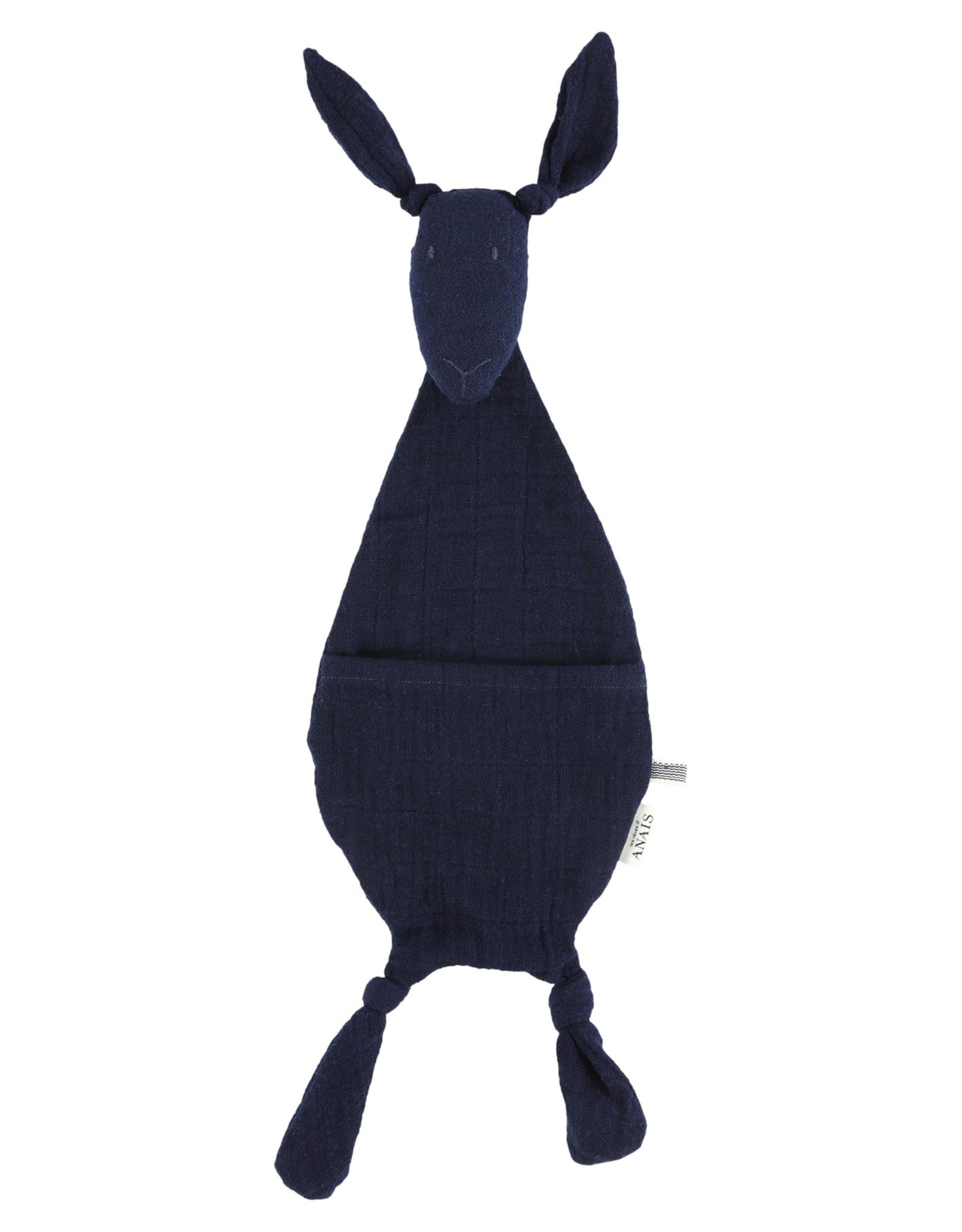 Les Rêves d'Anaïs  Kangaroo comforter  - Bliss Blue