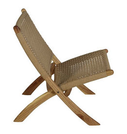 Quax Folding Adult Chair Loom Rope