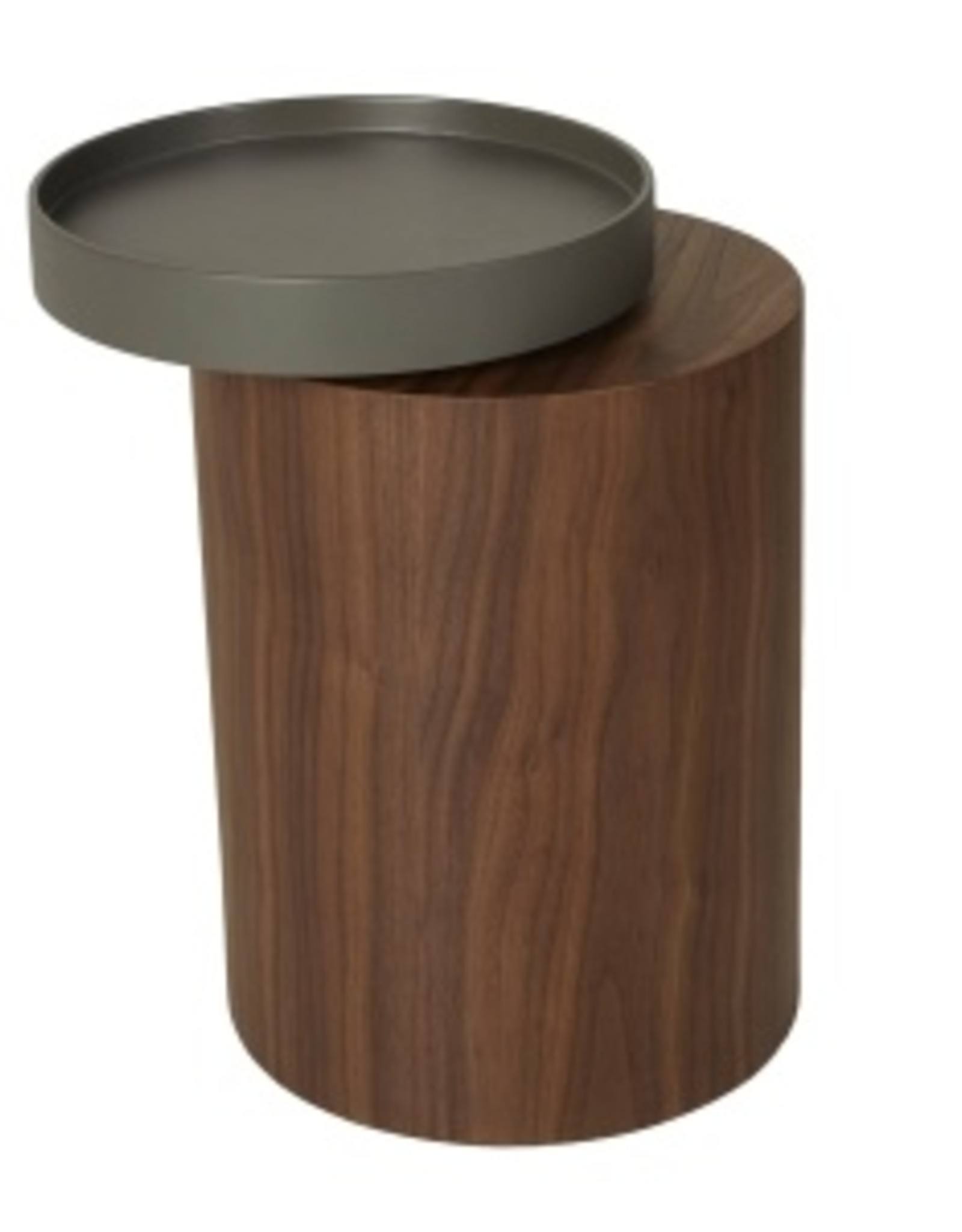 Quax Side Table With Rotary Tray