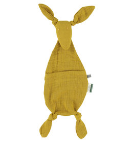 Les Rêves d'Anaïs  Doudou kangourou - Bliss Mustard