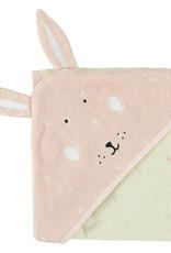 Trixie Hooded towel | 75x75cm - Mrs. Rabbit
