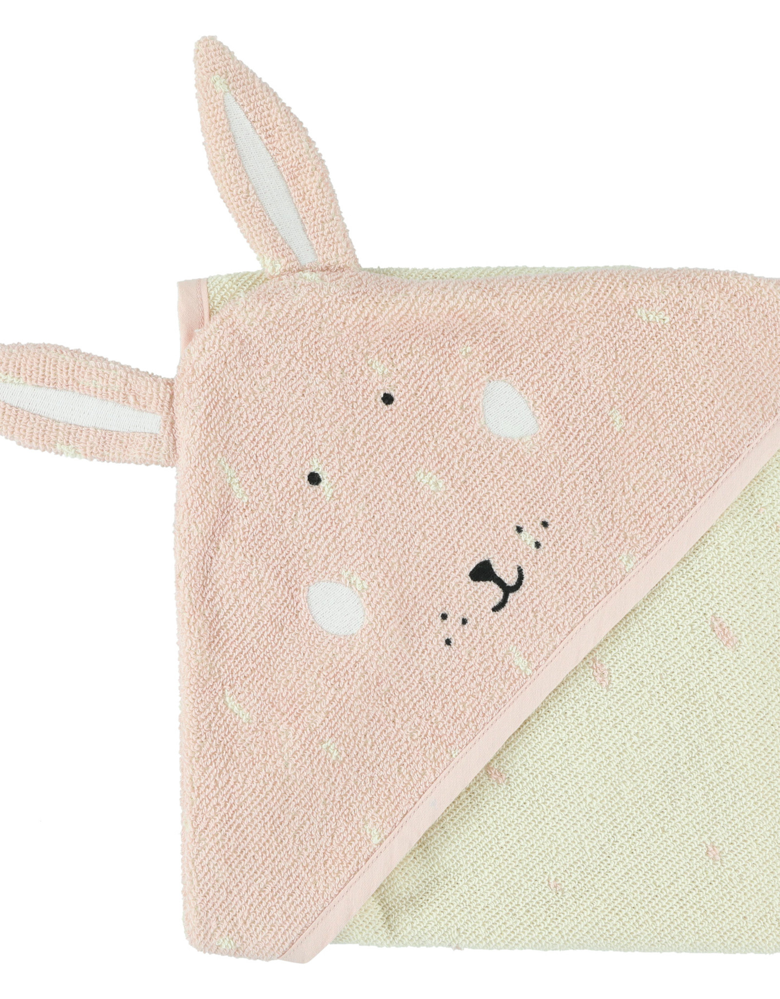 Trixie Badcape | 75x75cm Mrs. Rabbit
