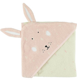 Trixie Hooded towel | 75x75cm - Mrs. Rabbit