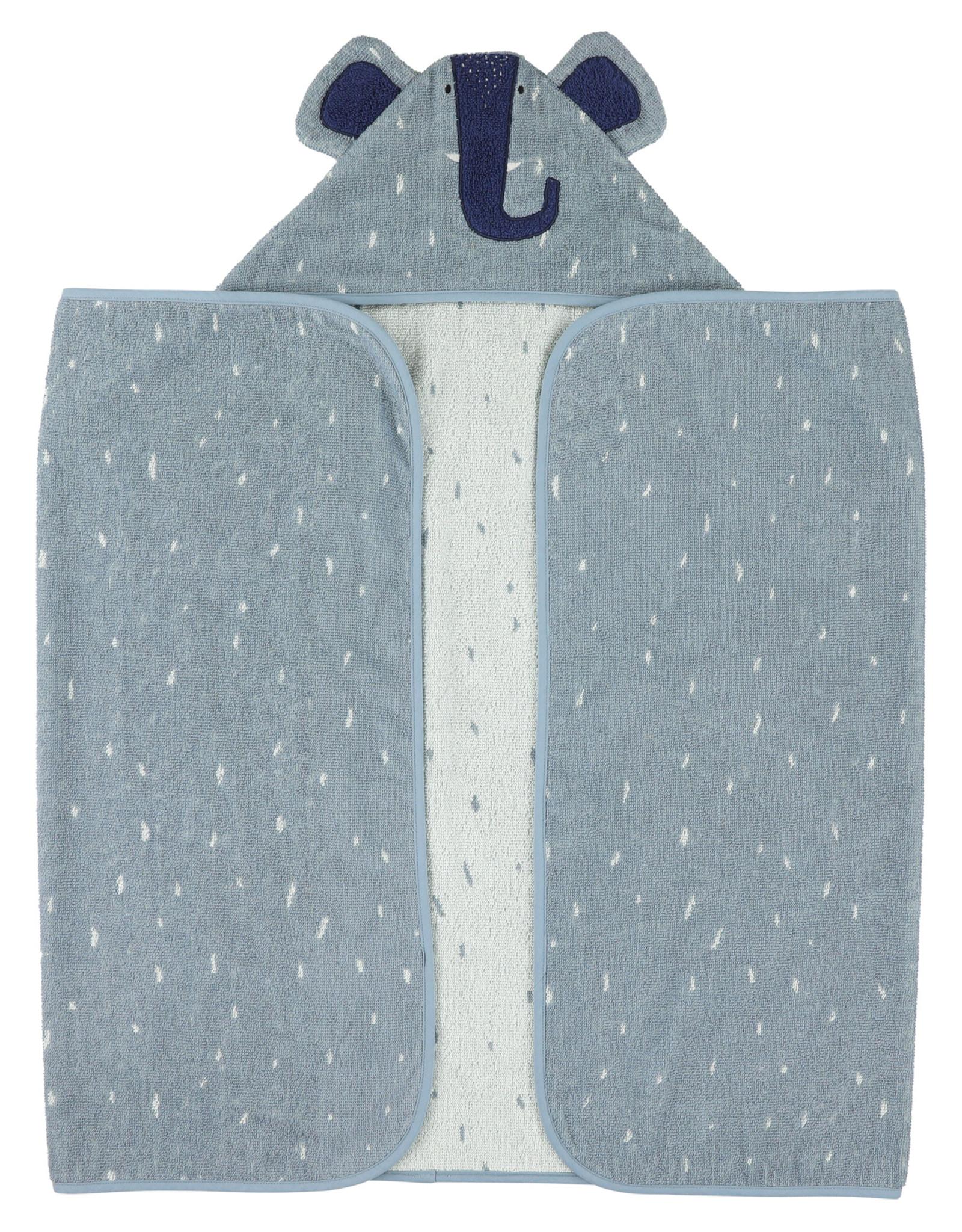 Trixie Hooded towel | 75x75cm - Mrs. Elephant