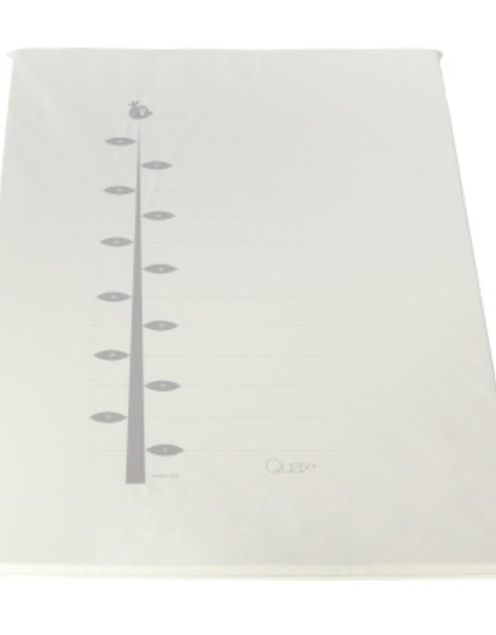 Quax Playpen Mat Pvc - Ruler - White