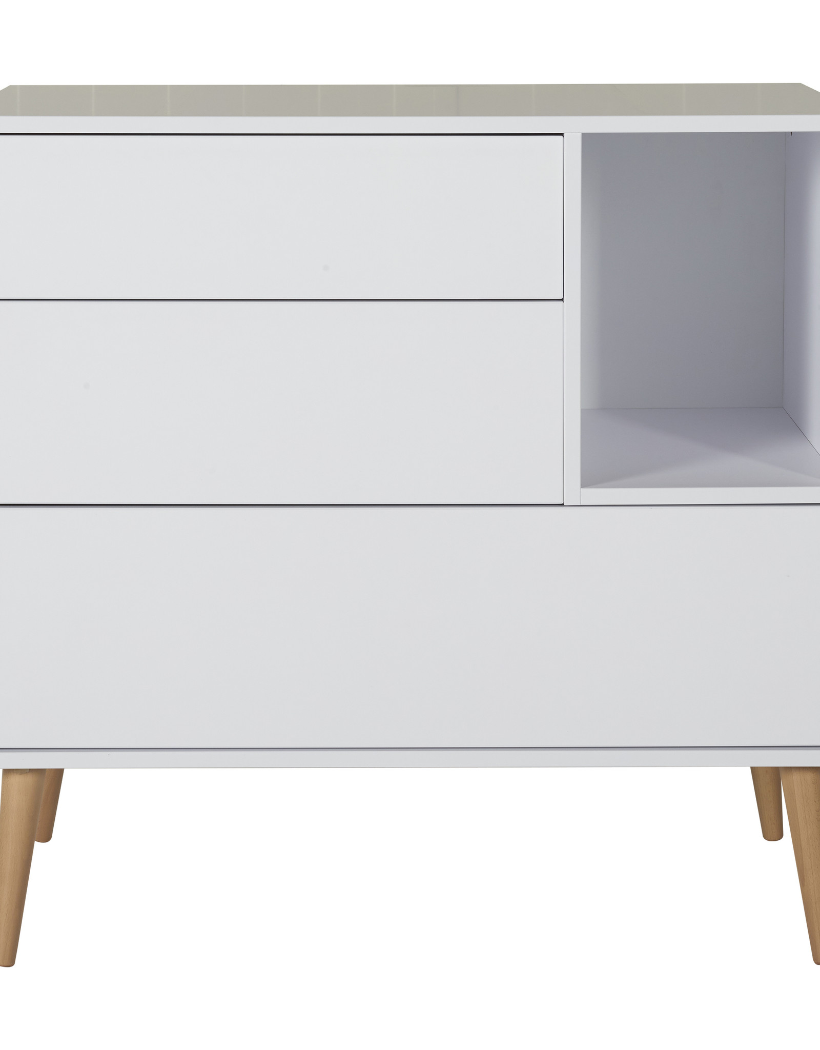 Quax Cocoon Commode - Ice White