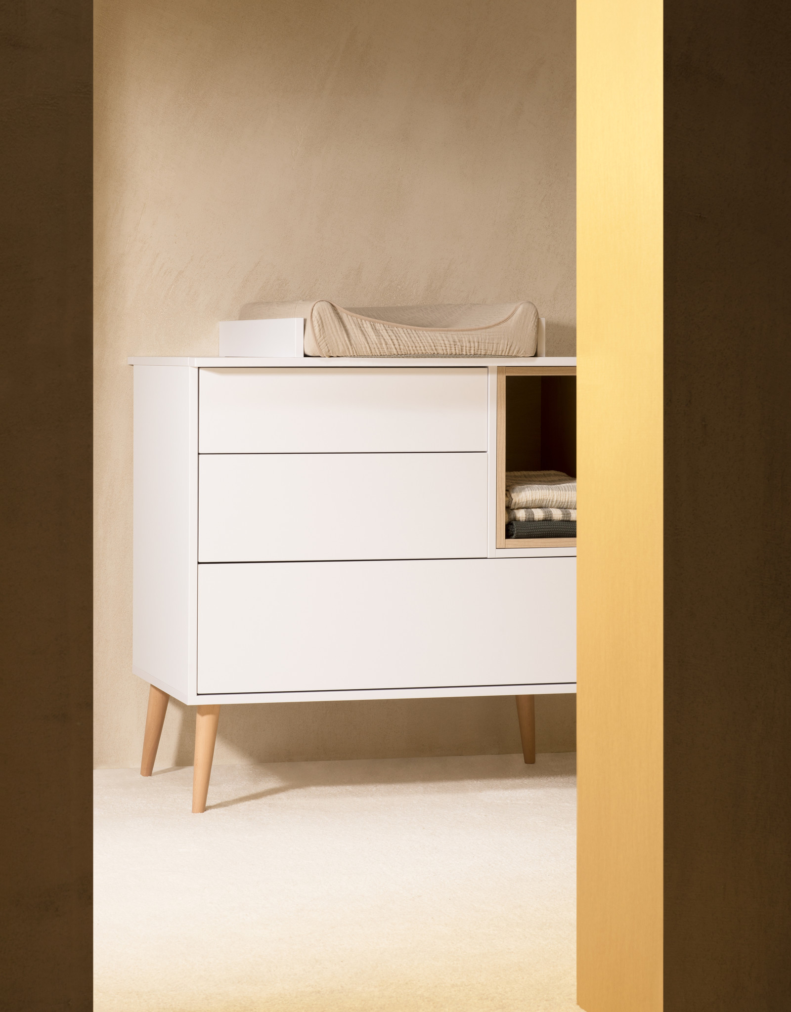 Quax Cocoon Extensie Commode - Ice White