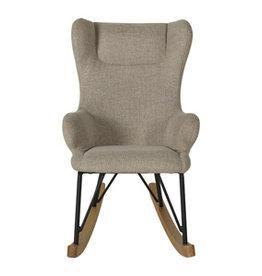 Quax Rocking Kids Chair De Luxe - Argile