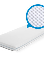 Aerosleep Fitted sheet 60 x 120 cm Safe Sleep White