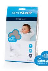 Aerosleep Aerosleep Hoeslaken 60 x 120 cm Safe Sleep Donker grijs
