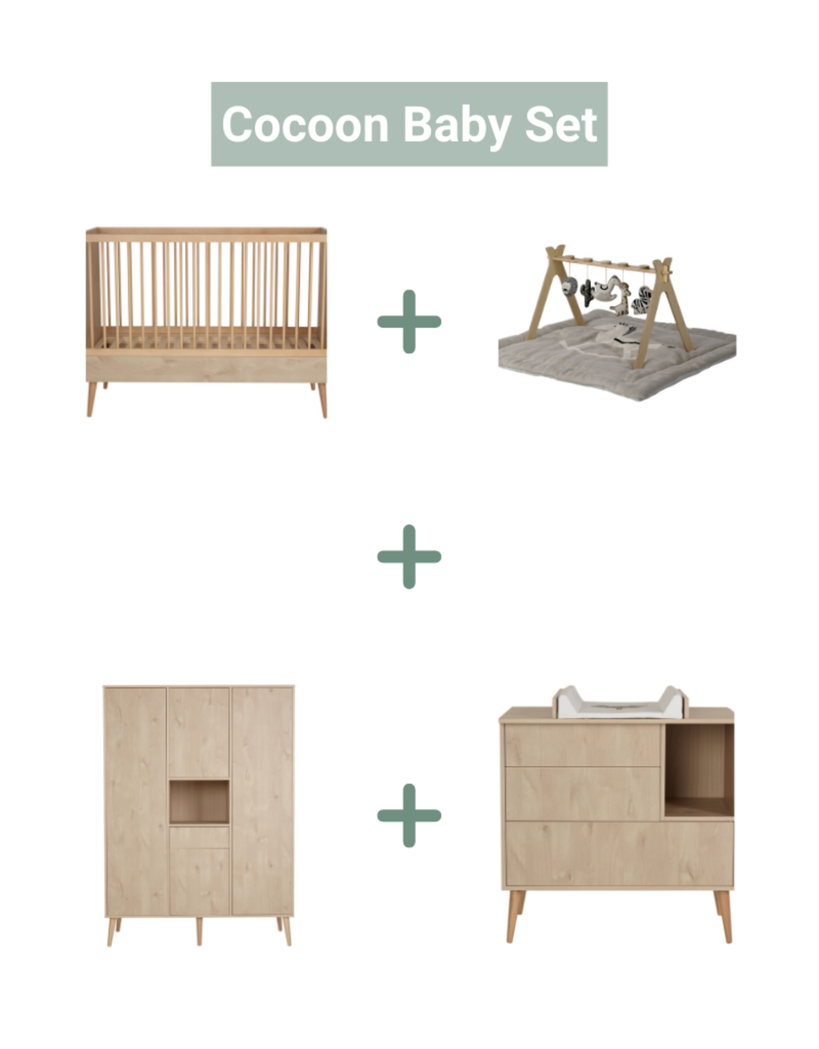 Quax Cocoon Baby Set