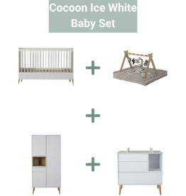 Quax Cocoon Ice White Baby Set