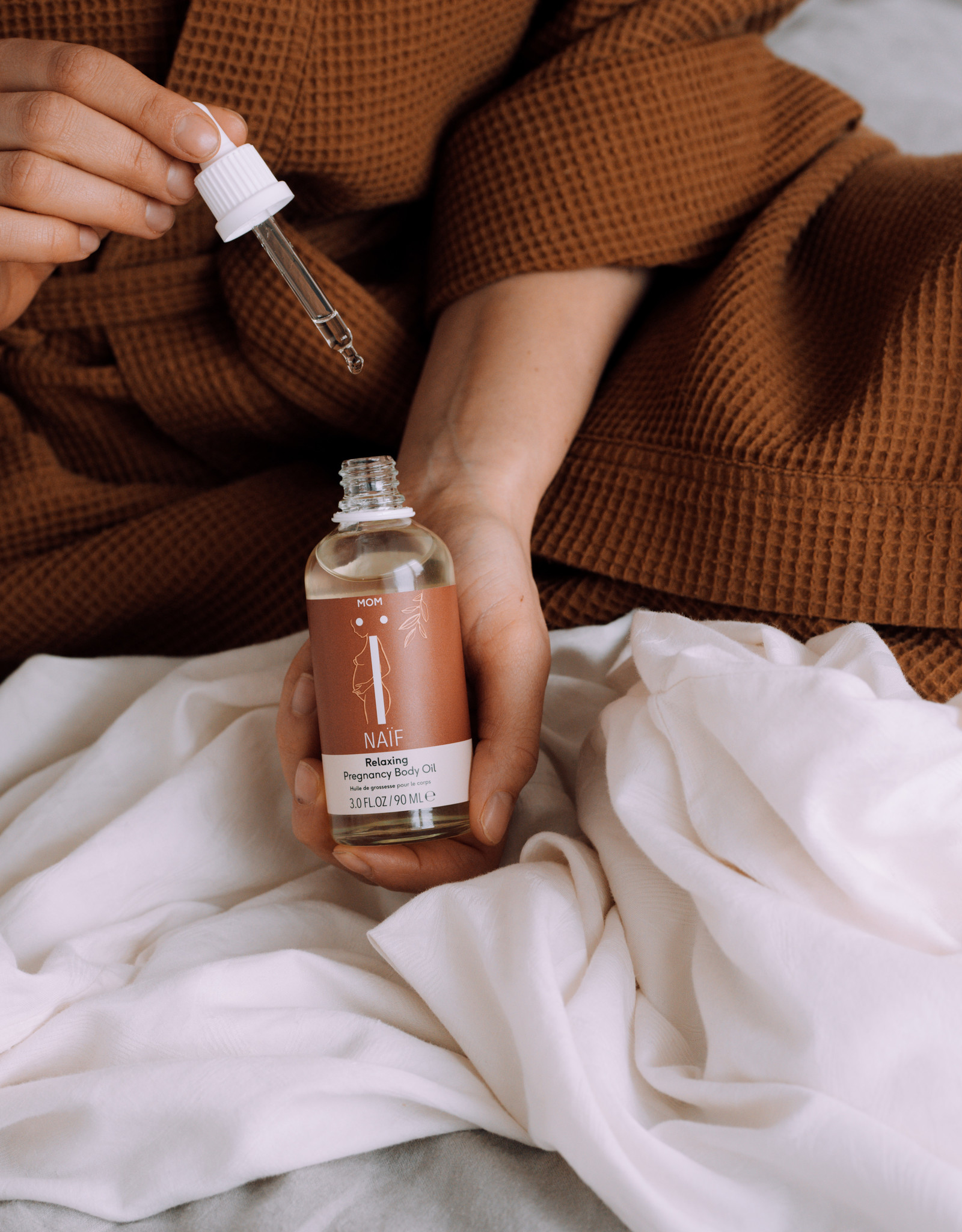 Naïf Mom Pregnancy Body Oil