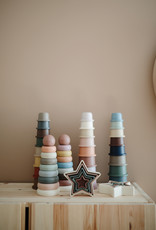 Mushie Stacking cups Petal