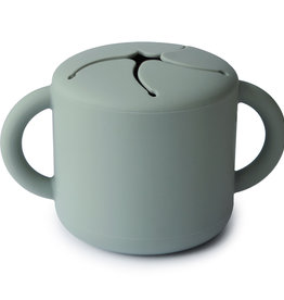 Mushie Snack Cup (Cambridge Blue)