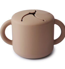 Mushie Snack Cup (Natural)
