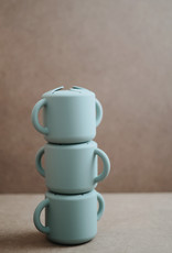 Mushie Snackbeker (Cambridge Blue)