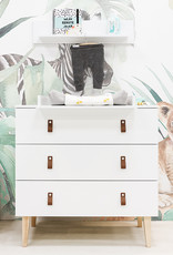 Bopita DRESSER WITH 3 DRAWERS INDY WHITE/NATURAL