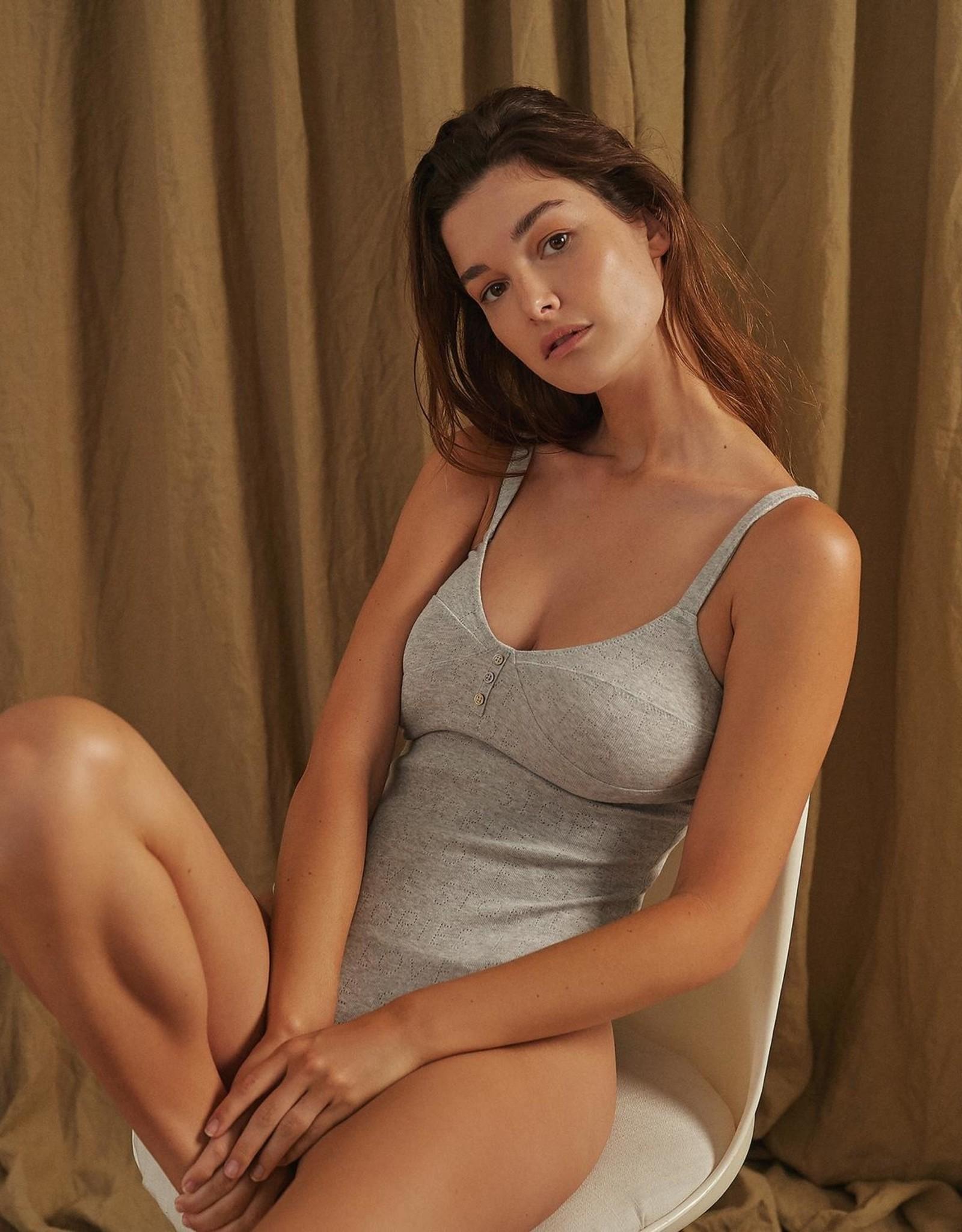 Love Stories Sandy Bodysuit Grey S